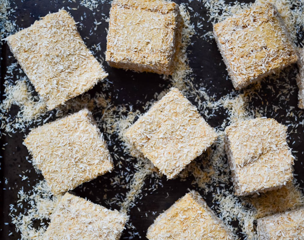 paleo salted caramel and toasted coconut marshmallows