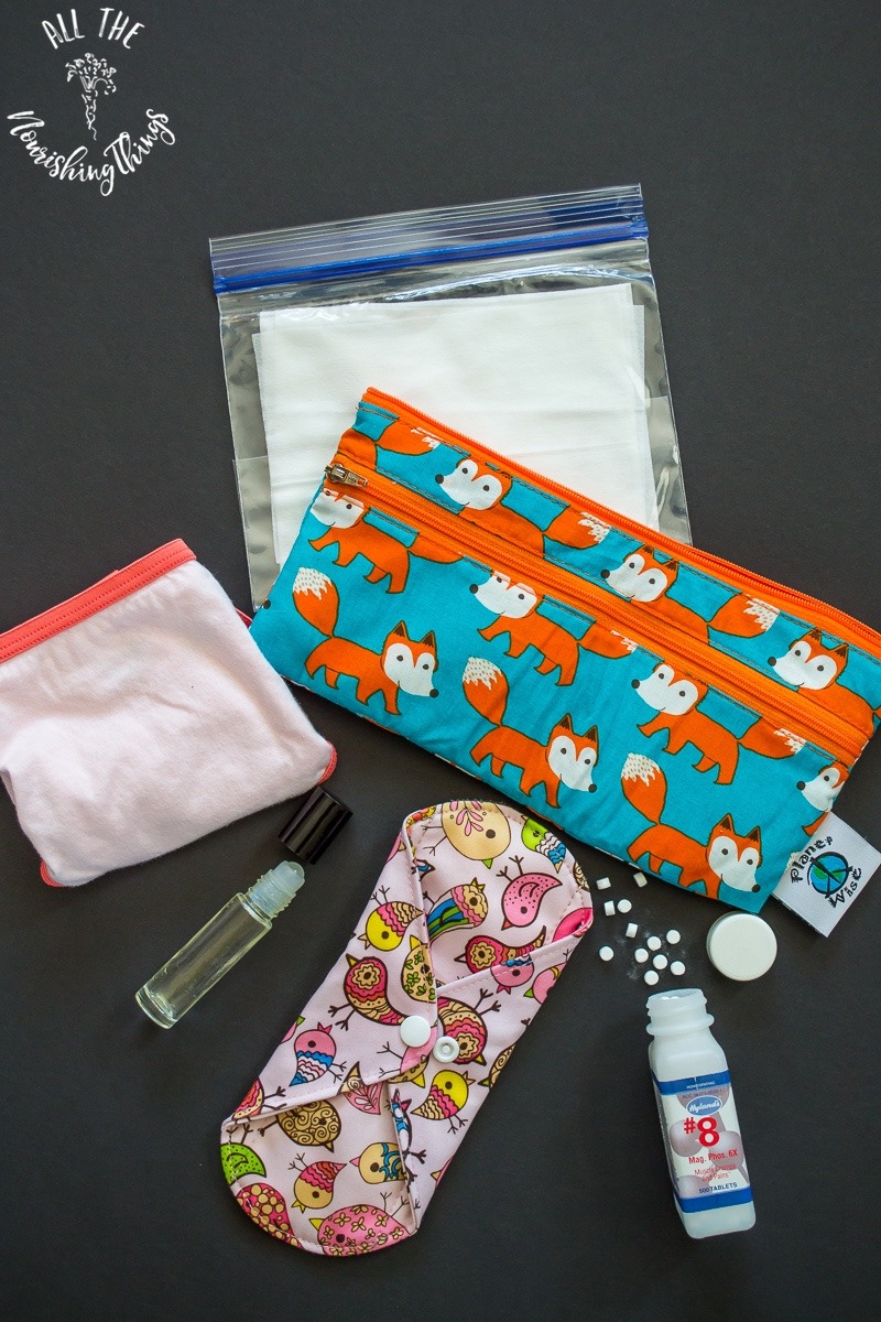 non-toxic period emergency kit for teens