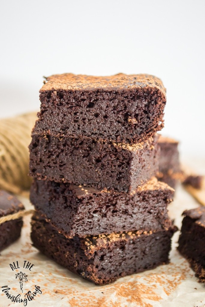Best Keto Fudgy Brownies With A Secret! {grain-free, dairy-free, sugar-free}