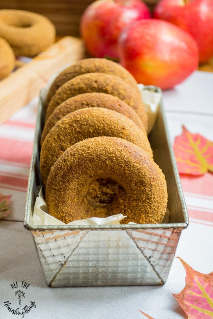 Soaked Gluten-Free Apple Cider Donuts