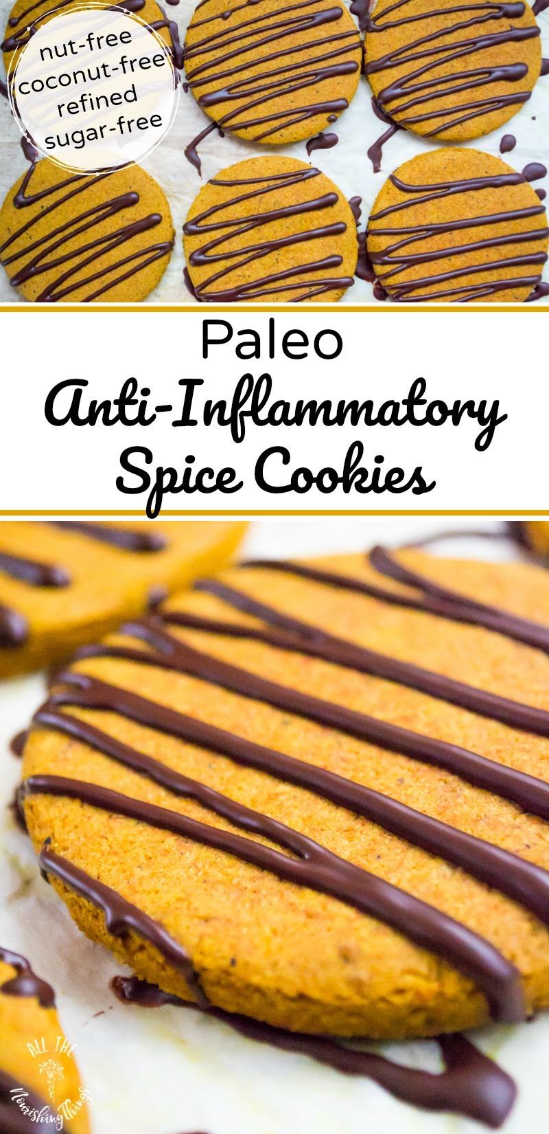 paleo anti-inflammatory spice cookies