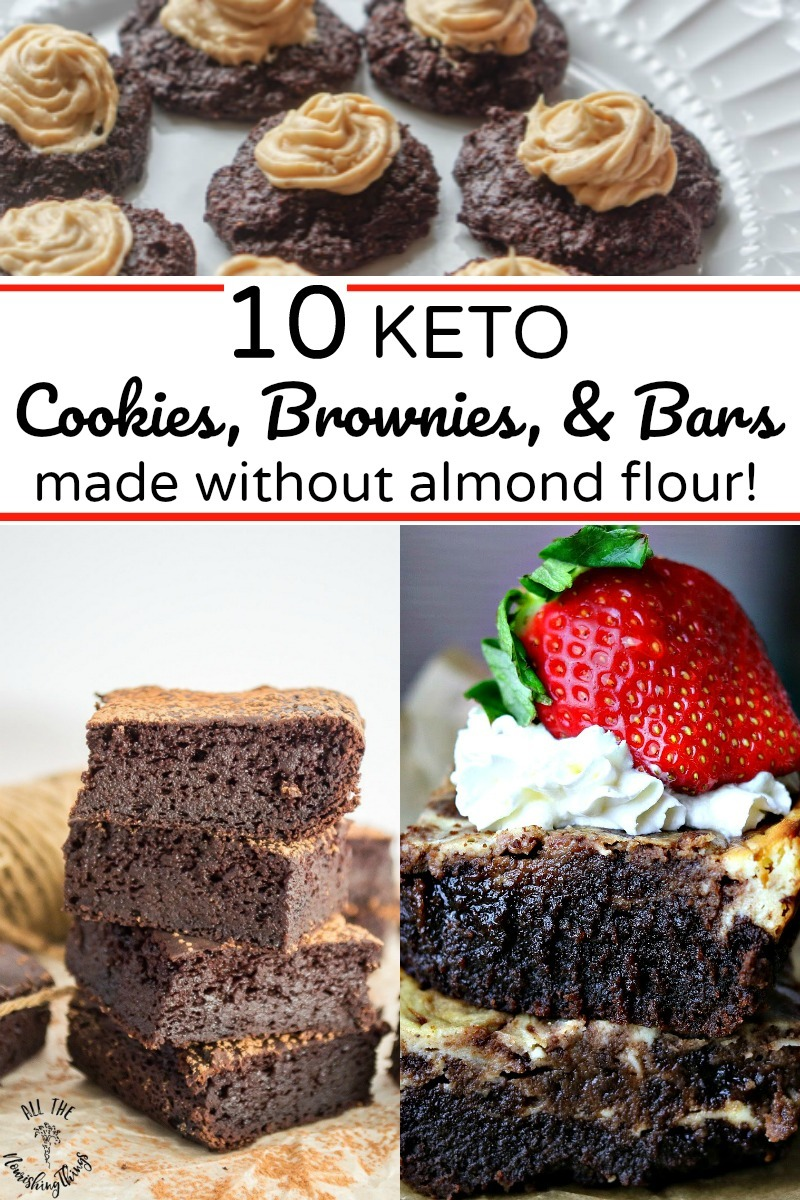 keto chocolate desserts made without almond flour