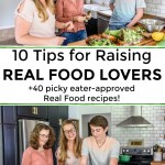 tips for raising real food lovers