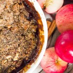 bubbly caramelized paleo instant pot apple crumble