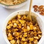 paleo instant pot apple crumble filling