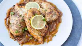 Instant Pot Lemon Garlic Chicken   With Stove Top Instructions