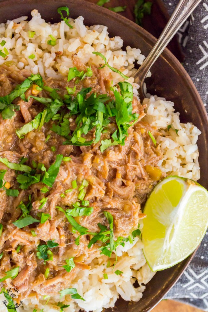 Instant Pot Green Chile Pork (keto, paleo, Whole30)