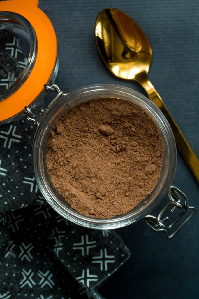 Instant Keto Hot Chocolate Mix (dairy-free, xylitol-free, erythritol-free)