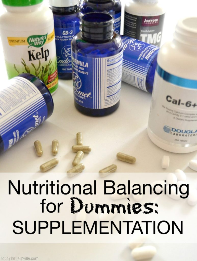Nutritional Balancing For Dummies: Supplementation