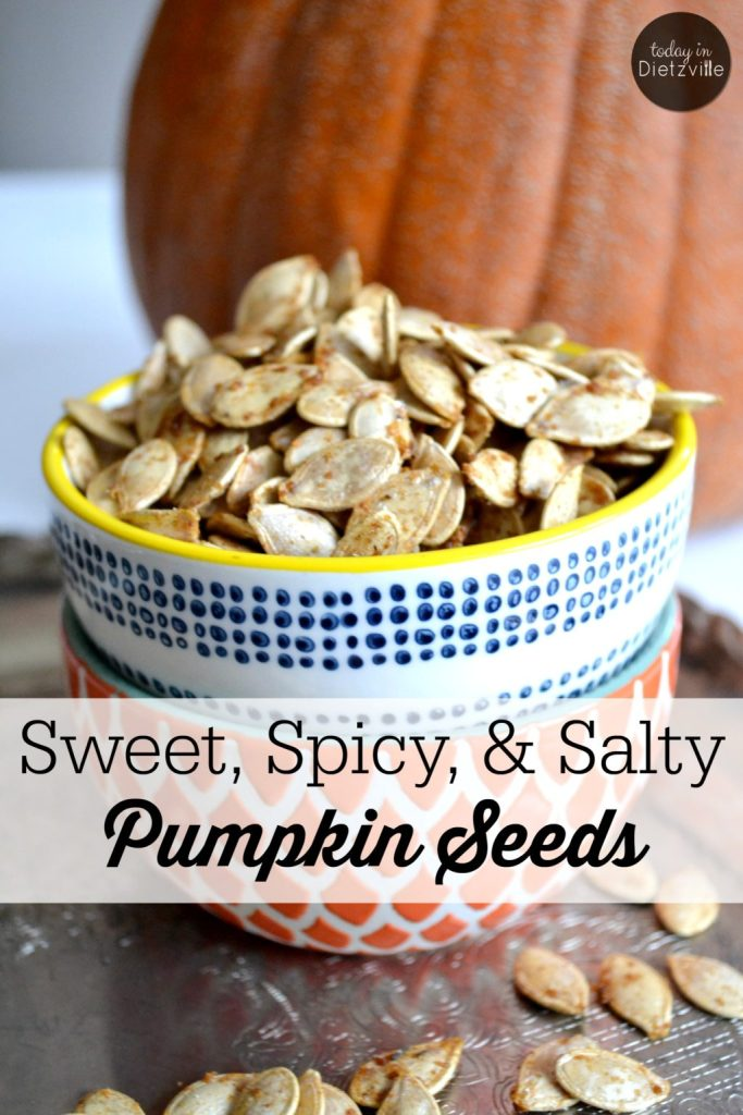 Sweet, Spicy, & Salty Pumpkin Seeds