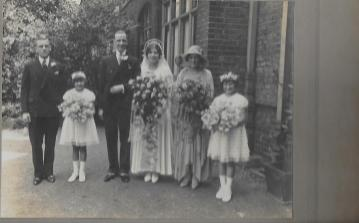 Marriage of David and Elsie