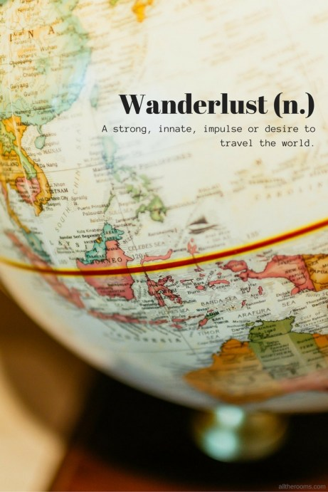 wanderlust travel words