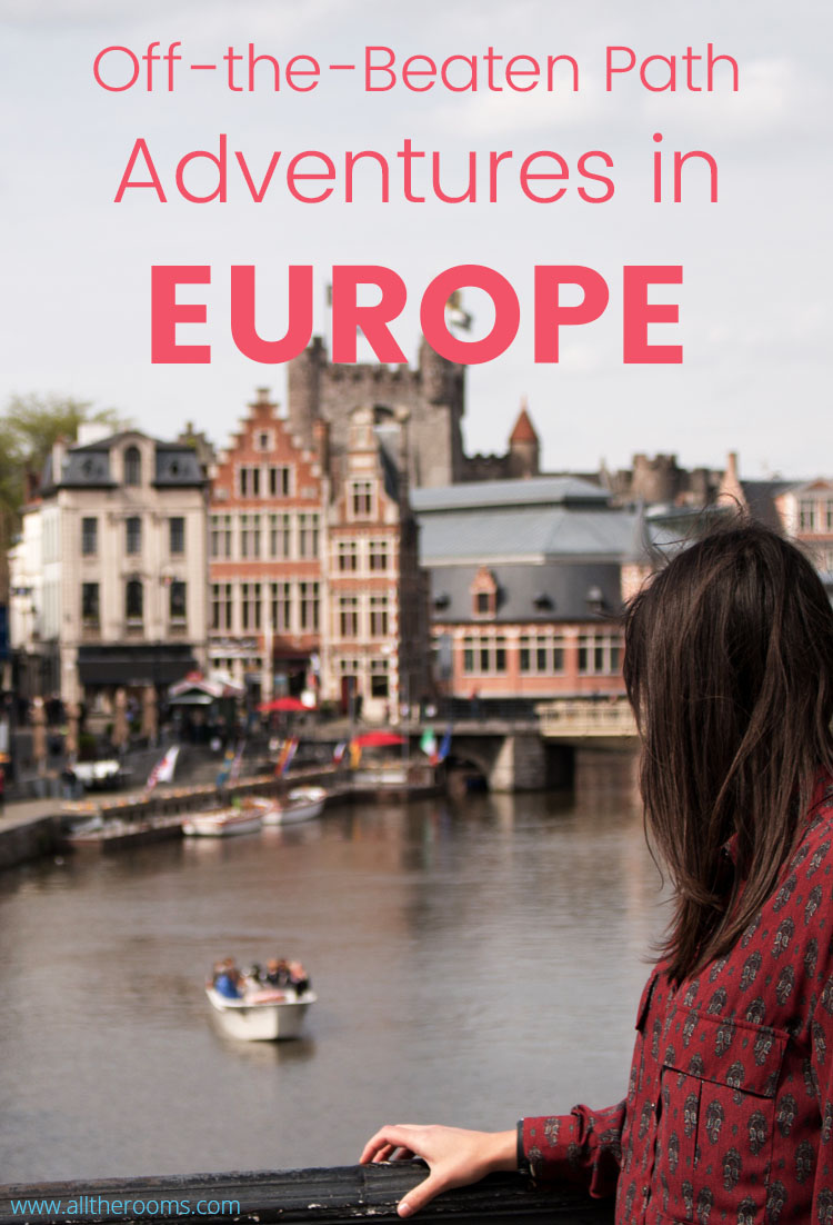 Here are 8 tips on how to have off-the-beaten-path adventures on your next trip to Europe. Travel Guide Europe. www.alltherooms.com