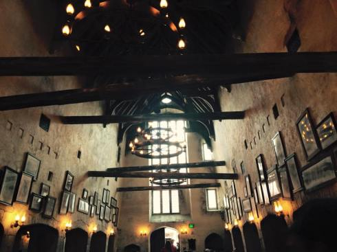 Lunch at the Leaky Cauldron in Diagon Alley