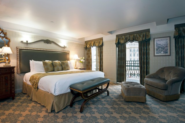 West Baden Springs King Balcony Guestroom