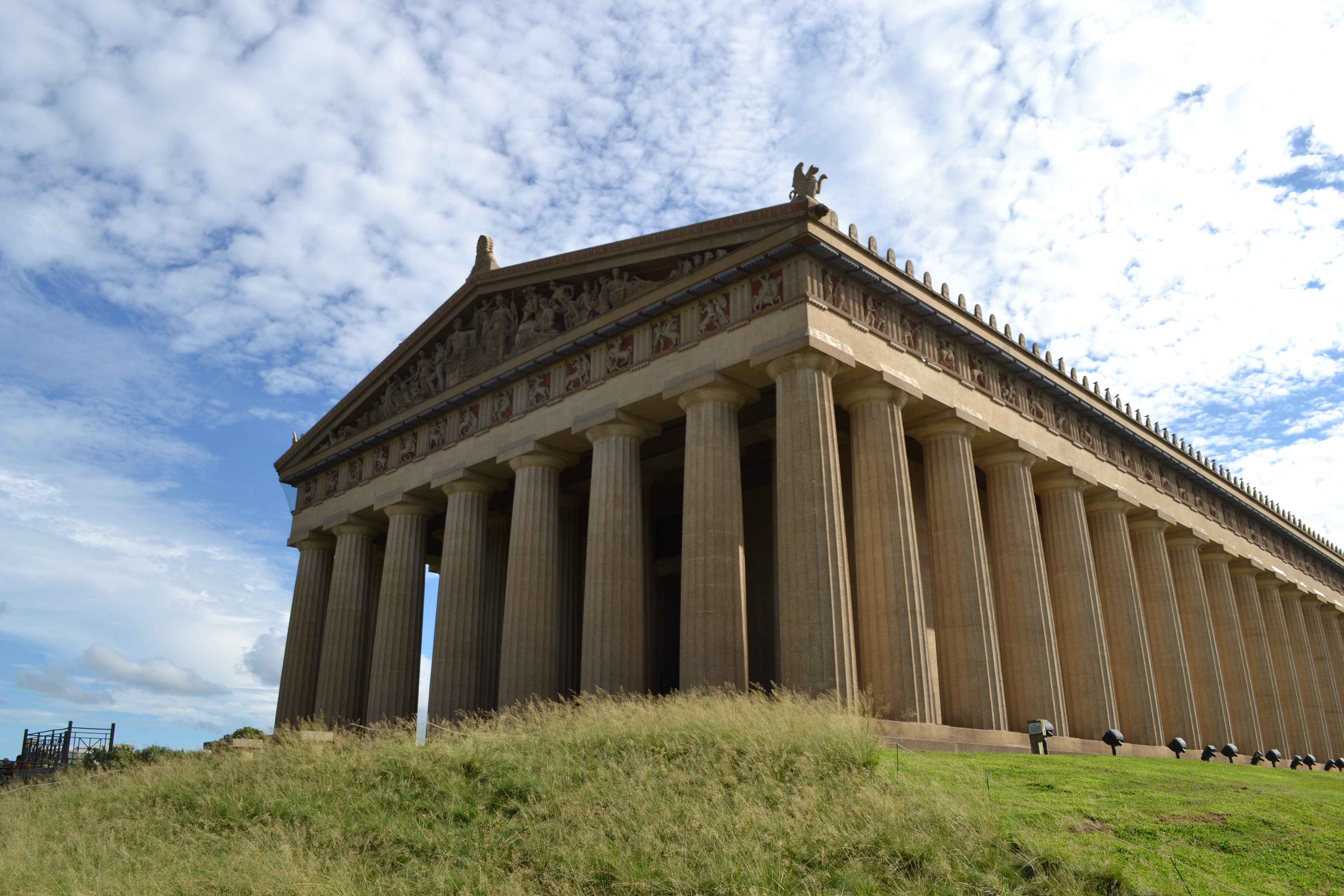 Nashville's Parthenon Honors Classical Ideals