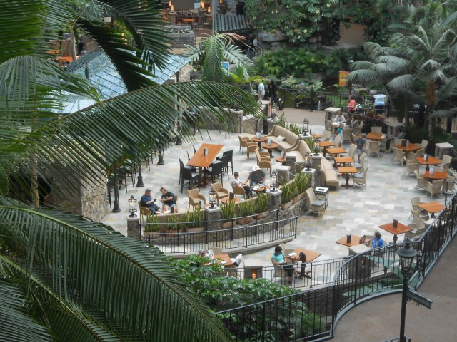 Falls restaurant in the Cascades conservatory.