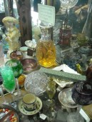 Sugarplums Etc. Antiques carries mostly glass and crystal.