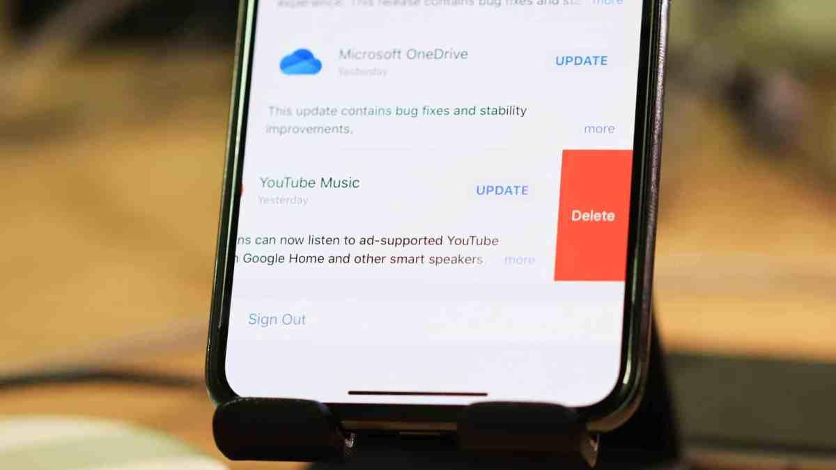 Delete Apps Pending Updates App Store iPhone iOS 13
