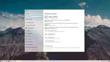 Windows 10 1903 KB4507453 update