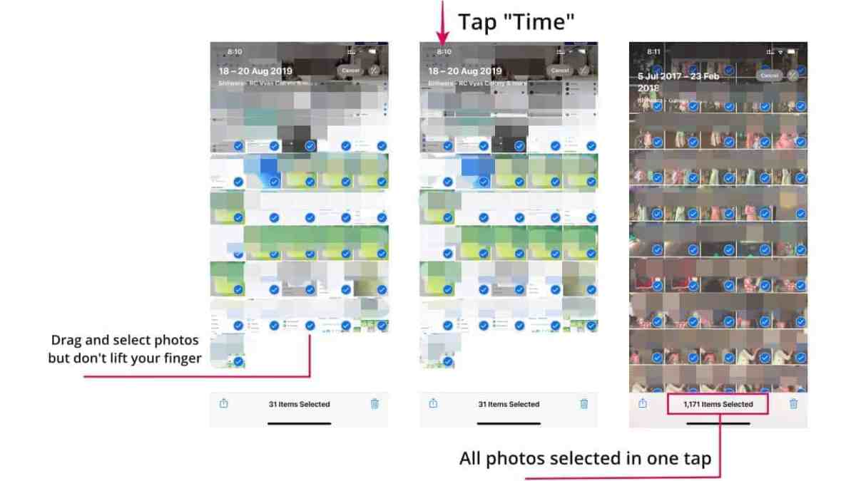 Select All Photos Time Trick iPhone Featured