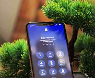 iPhone lock screen passcode enable face id