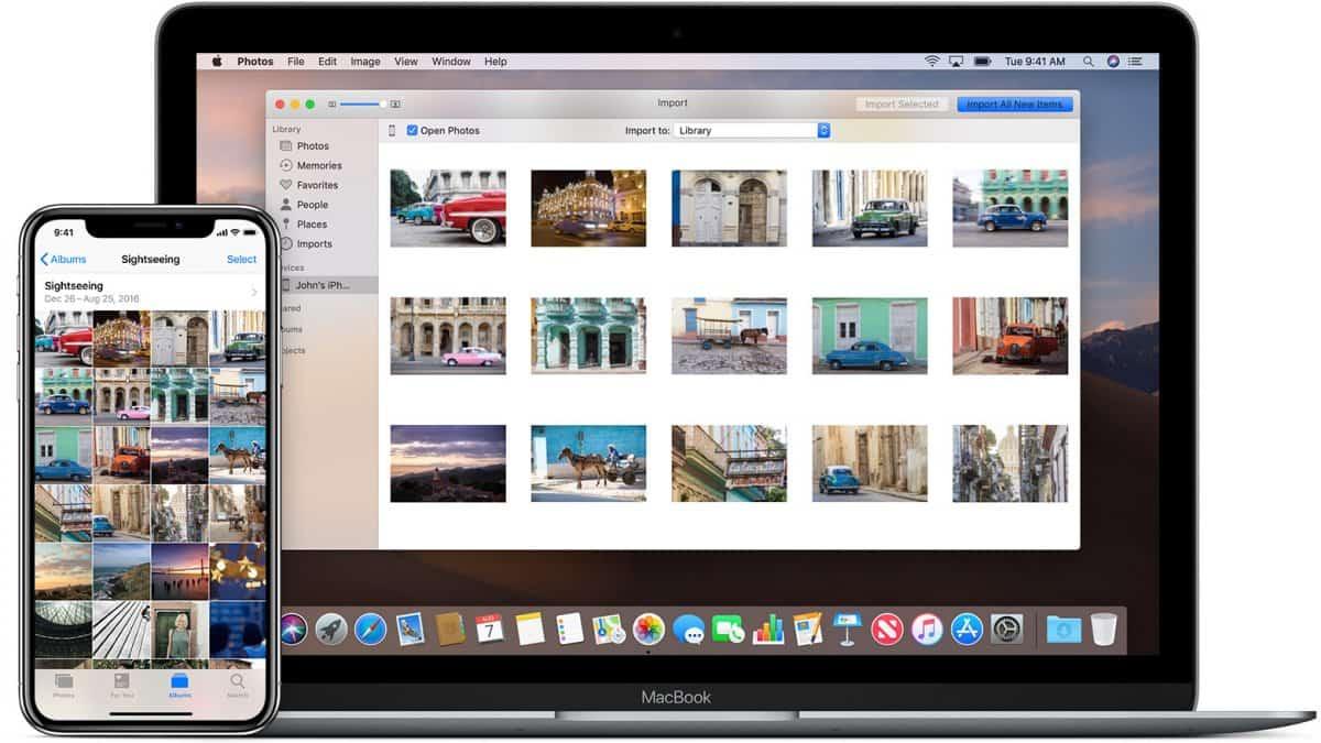 Photos iPhone to Computer