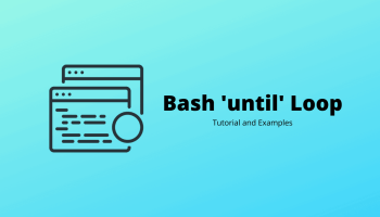 Bash 'until' Loop