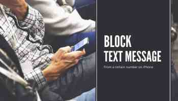 Block Text Message