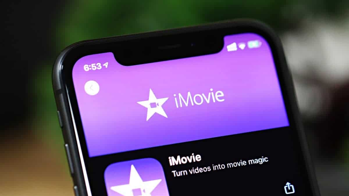 iMovie iPhone app store