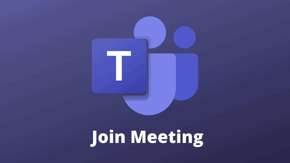 Join a Microsoft Teams Meeting