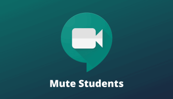 Mute Students Google Meet
