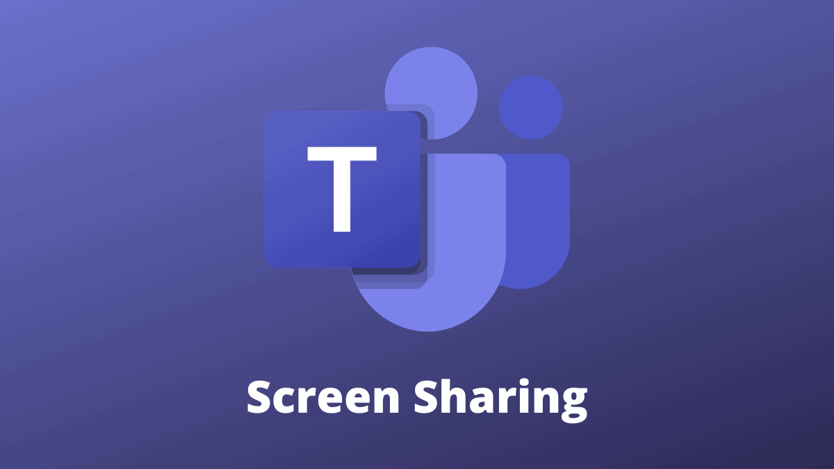 Screen Sharing Microsoft Teams
