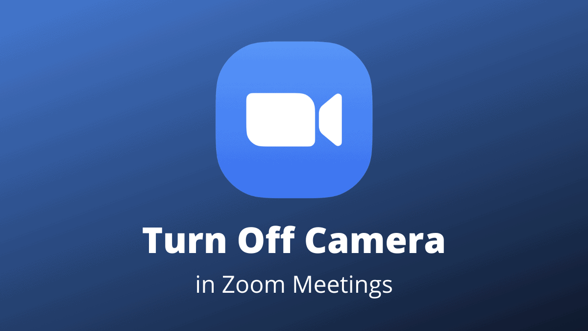 Turn Off Camera Zoom