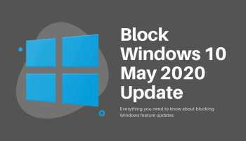 Block Windows 10 Update