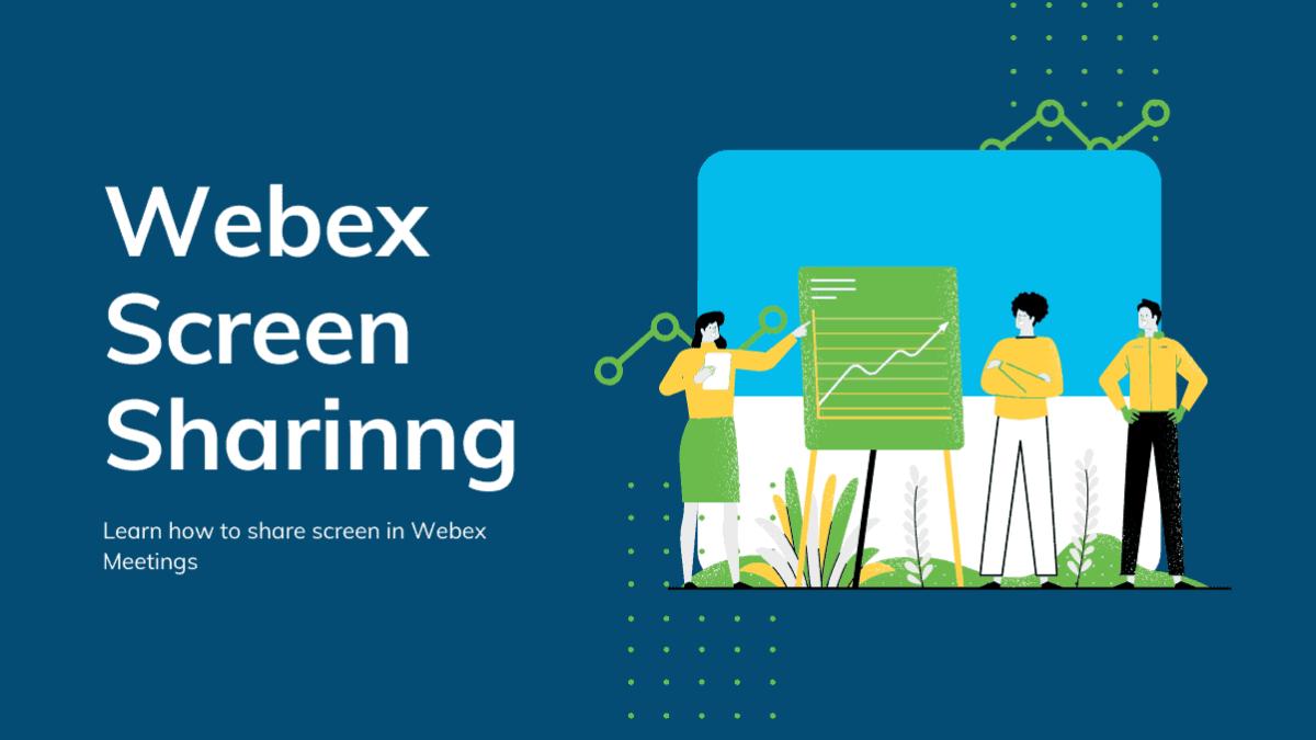 Webex Screen Sharinng