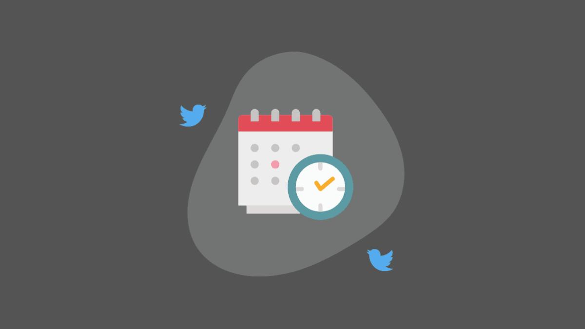 Schedule Tweets Twitter