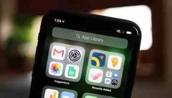 iOS 14 iPhone App Library
