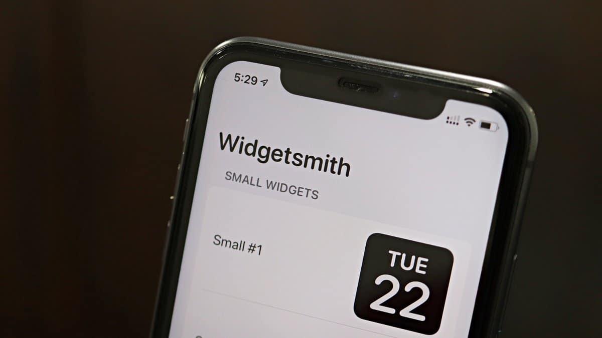 Widgetsmith app iPhone