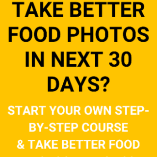 Free Food Photography Course