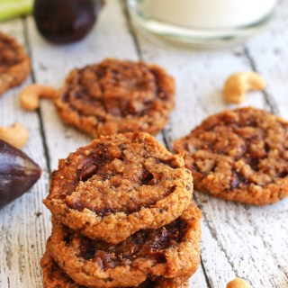 Cashew, Fig and Orange Cookies