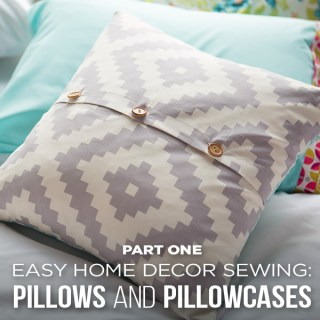 Home Decor Sewing Classes