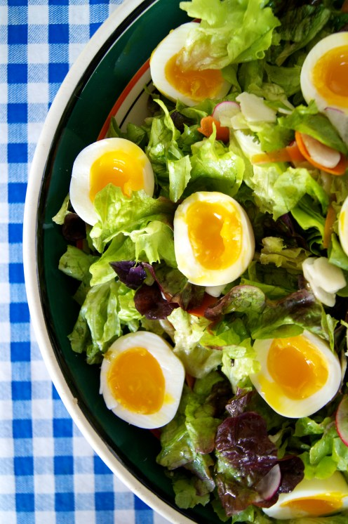 yolks and lettuces