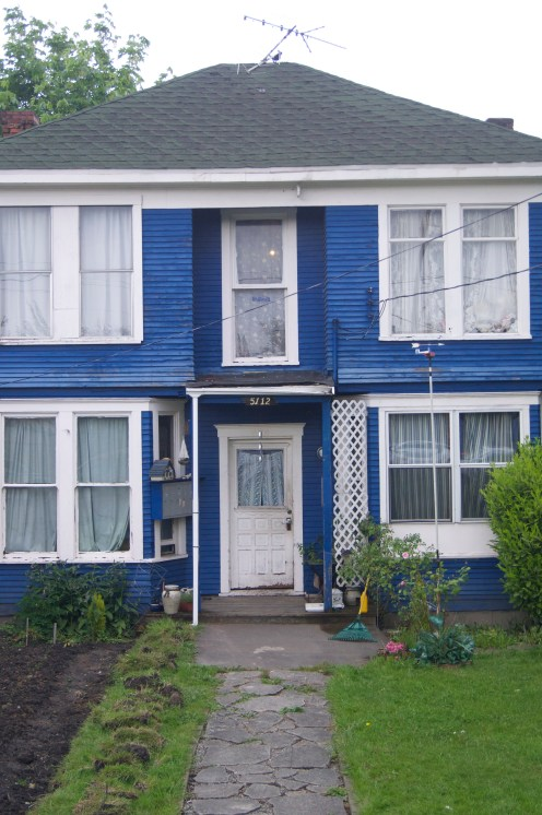 really liked this blue house for some reason