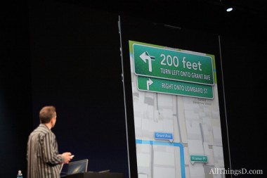 forstall with iOS 6 maps