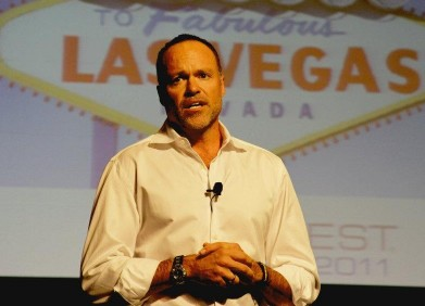 HomeAway CEO Brian Sharples