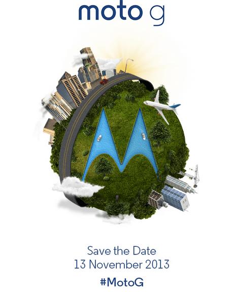 Moto G invite