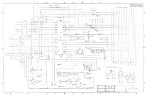 TRS-80 Models 3 & 4 Floppy Disk Drive Controller Schematic Diagram