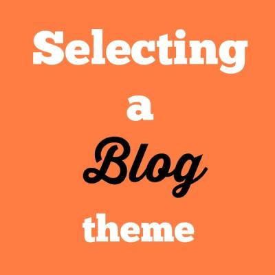 What's My Blog Theme?