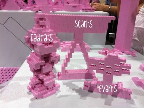 Monochromatic LEGO build